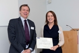 Dr Sarah Collins Teaching excellence winner 2012/13