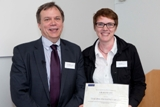 Dr Sarah Heath Teaching excellence winner 2012/13